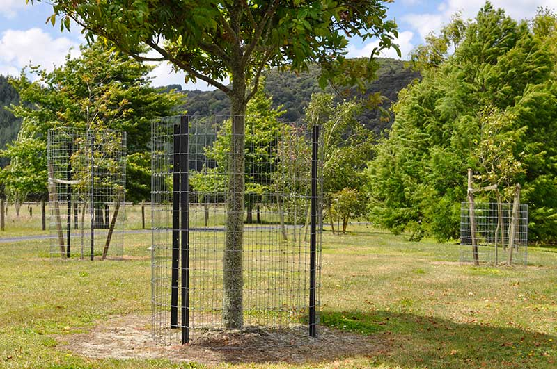 NZ fabricated netting fence for fencing sheep & lambs